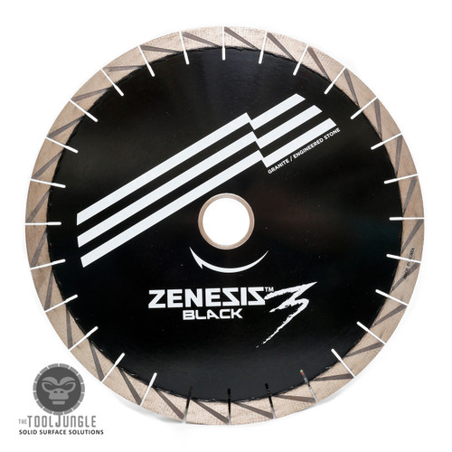 Zenesis Black 3 Silent Core Bridge Saw Diamond Blade 25mm