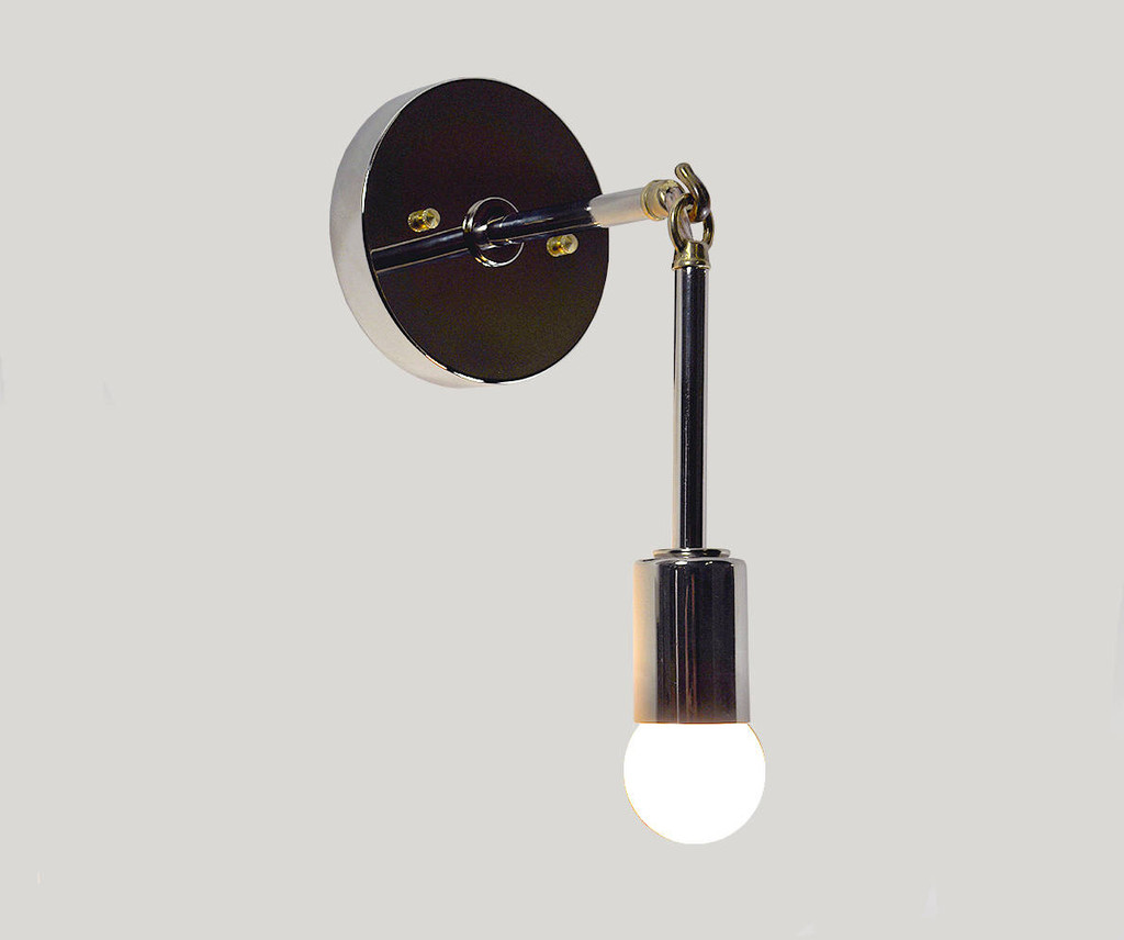 Swag Wall Sconce - Silver & Gold