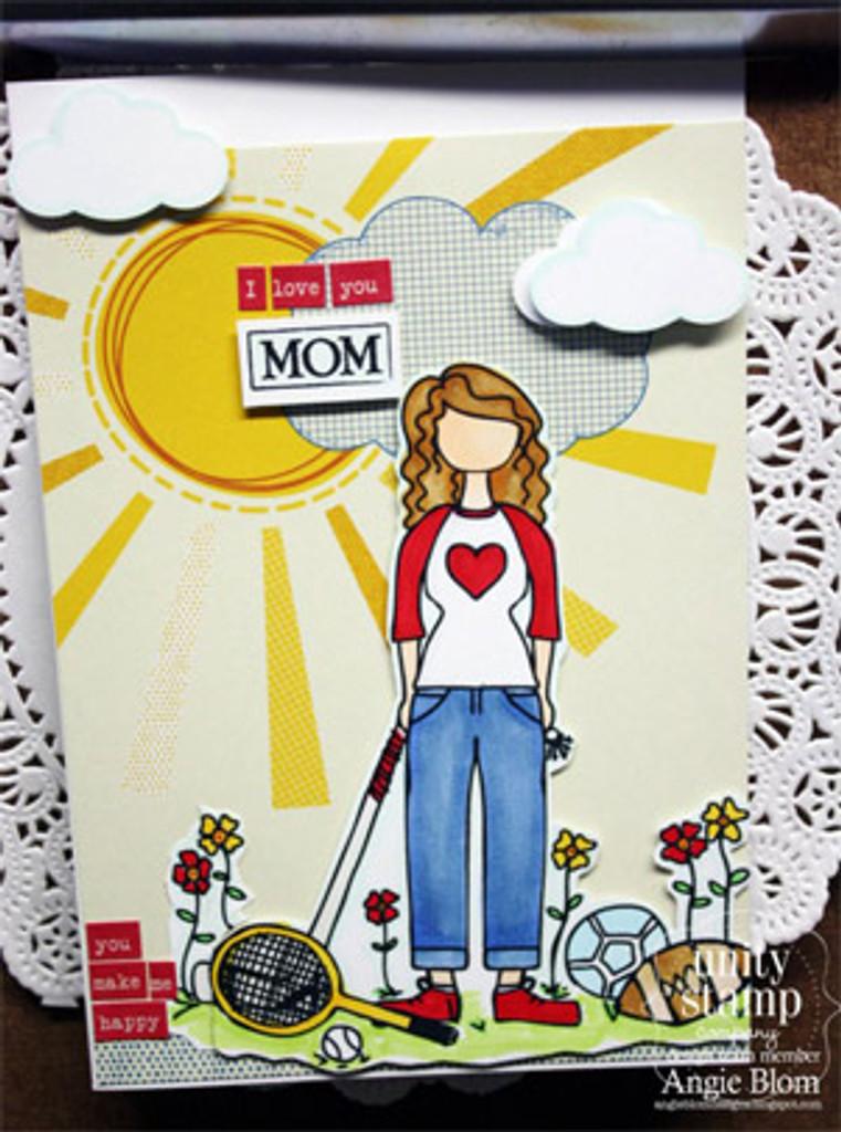 Lisa girl {sporty mom}
