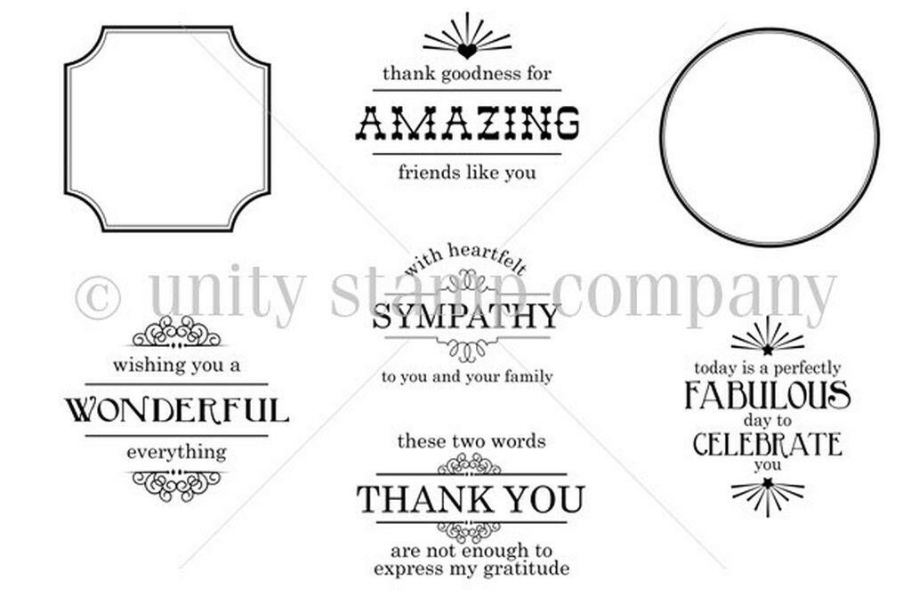 Everything Wonderful {june 2013 sentiment kit}