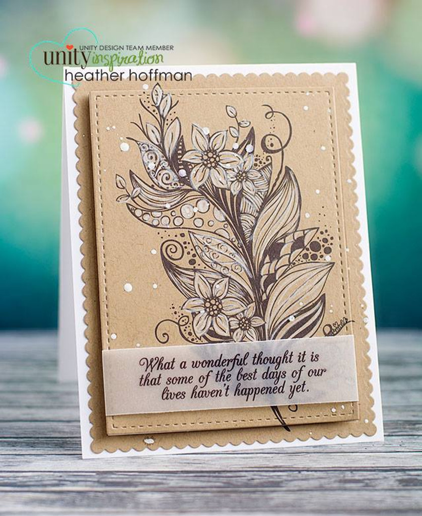 Beautiful is Never Perfect Unity Stamp Company
