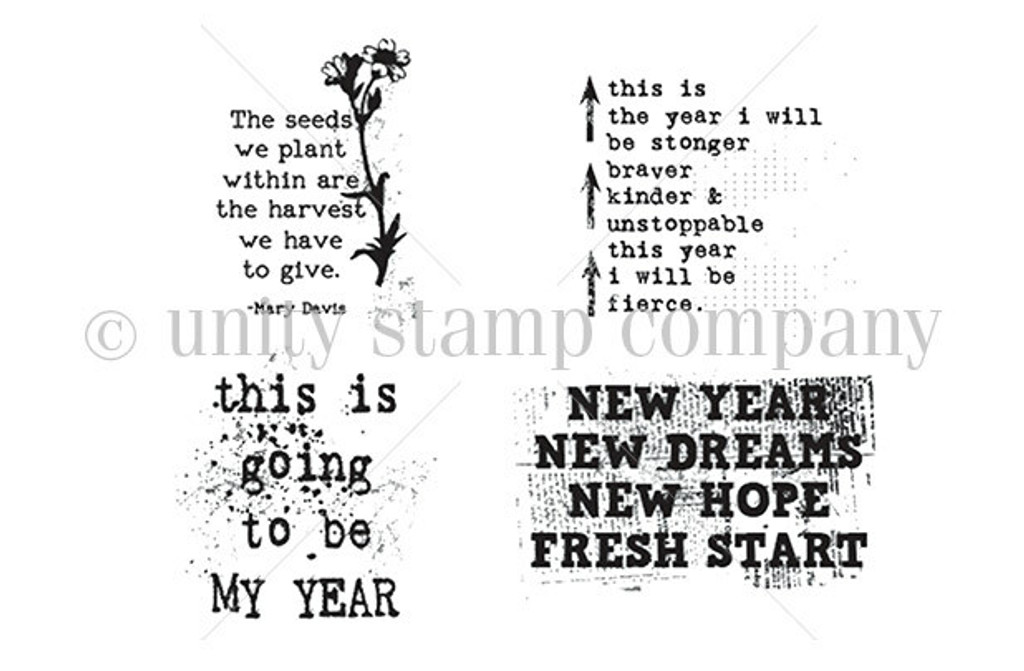 New Year New Dreams - Unity Stamp Company