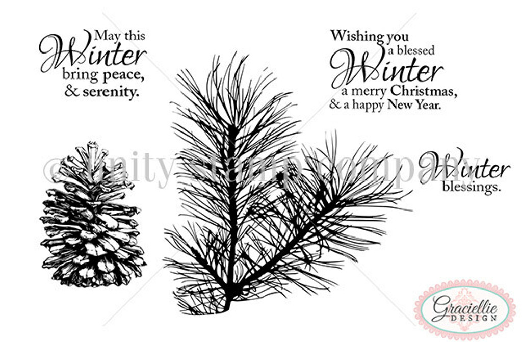 Winter Blessings - Unity Stamp Company