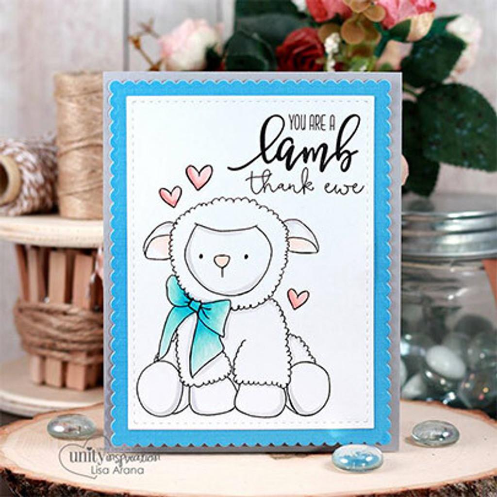 My Little Lamb {February 2018 Sentiment Kit}