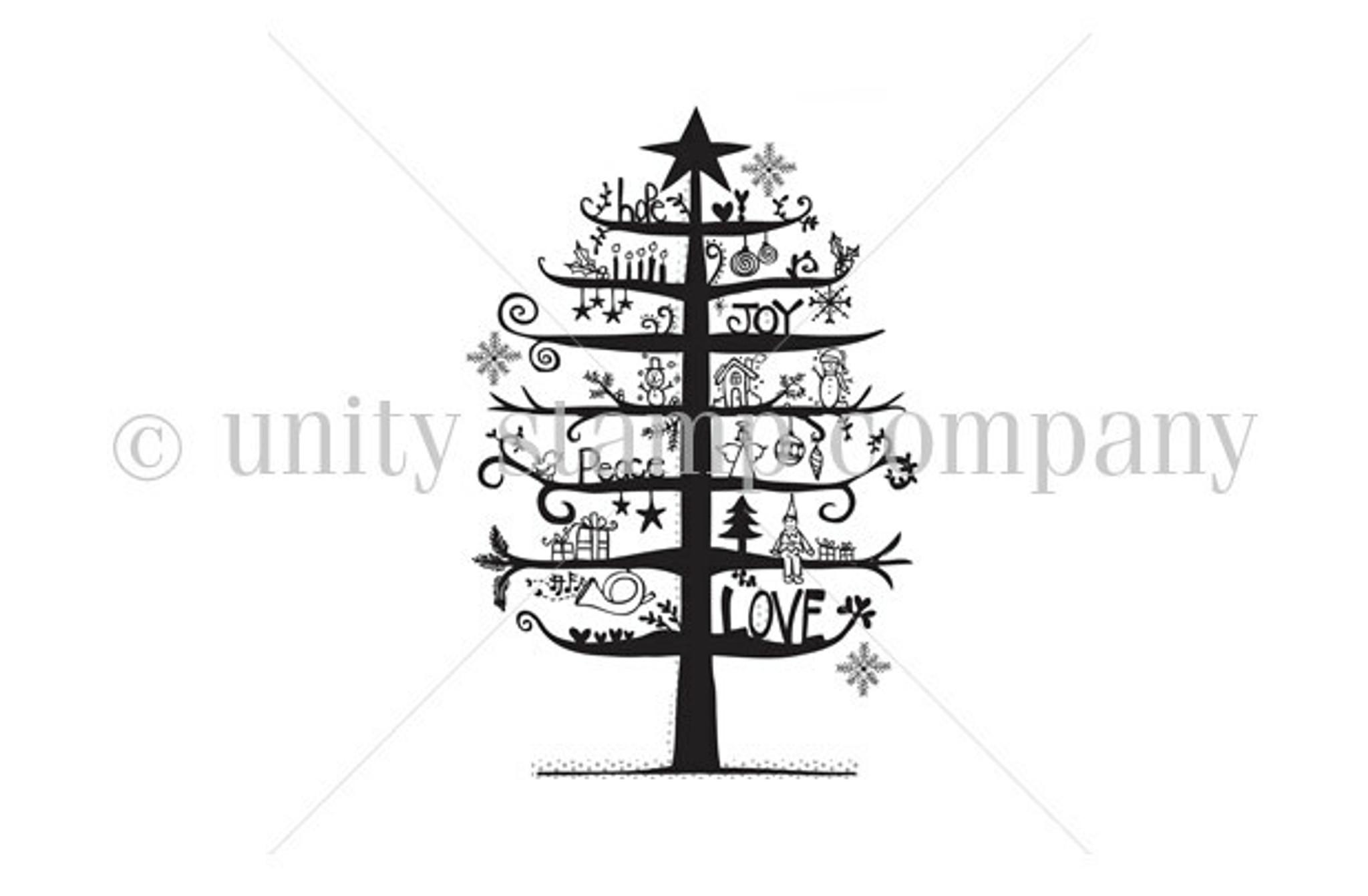 Christmas Tree Of Hope, Joy, Love