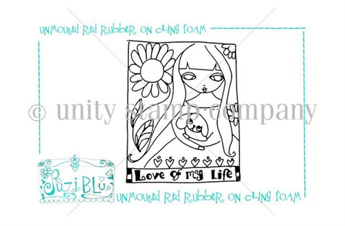 Love of my Life-Exclusive Stamp by Suzi Blu