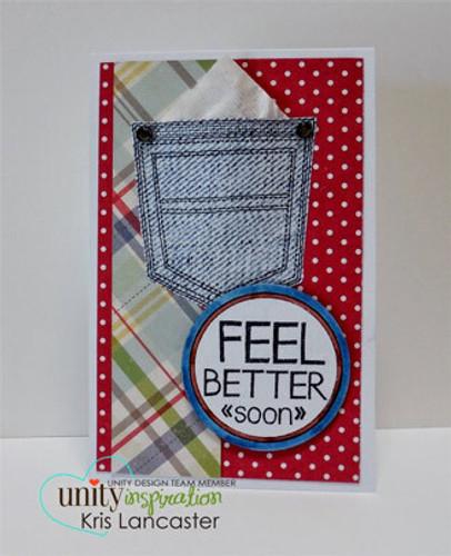 Feel Better Soon {april 2014 sentiment kit}