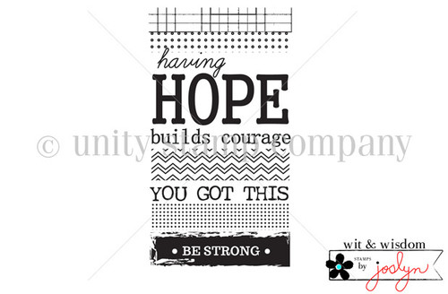 HOPE Builds Courage