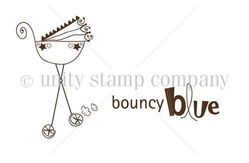 Bouncy Blue