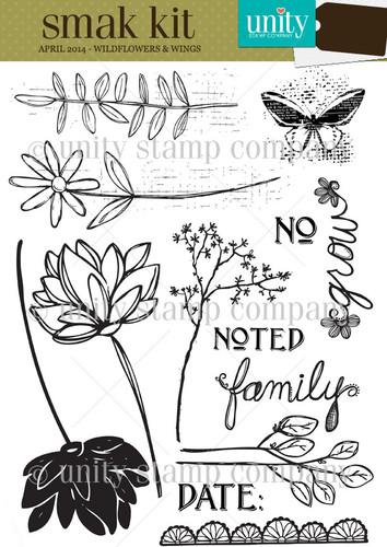 Wildflowers & Wings {smak 4/14}