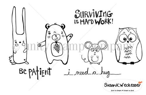 Patience & Hugs