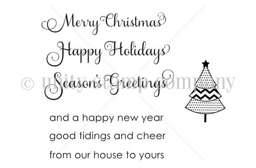 Just PLAIN Christmas Greetings