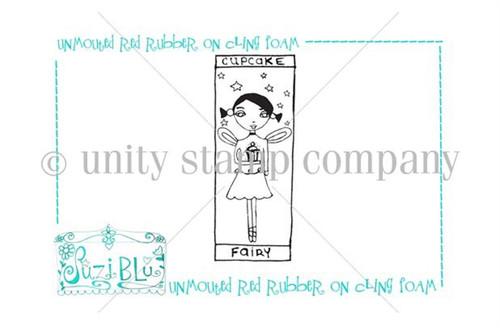Cupcake Fairy-Exclusive Stamp by Suzi Blu