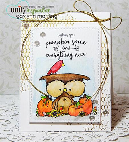 Bountiful Owl {september 2016 sentiment kit}