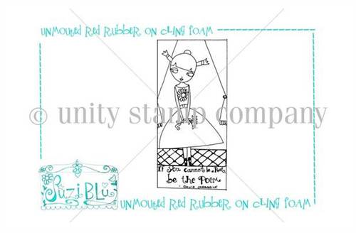 Be the Poem-Exclusive Stamp by Suzi Blu