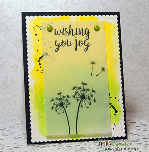 Let Your Wishes Fly {july 2016 sentiment kit}