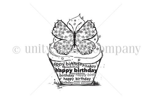 Butterfly Birthday Cupcake