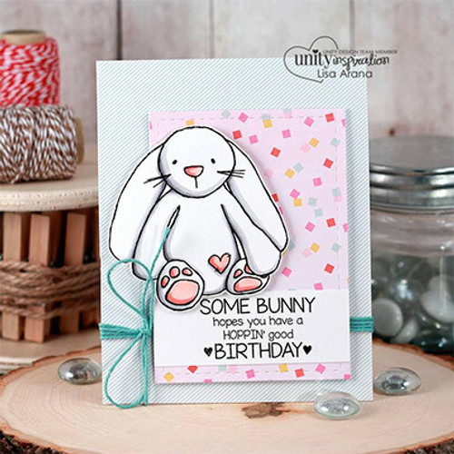 Bunny-Keep You Forever {March 2017 Sentiment Kit}