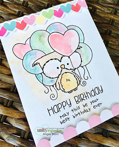Hugs, Kisses & Birthday Wishes {July 2017 Sentiment Kit}