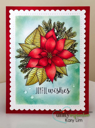 Poinsettia With Love {November 2017 Sentiment Kit}