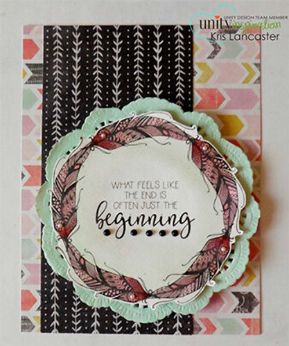 Things Will Work Out {december 2017 sentiment kit}