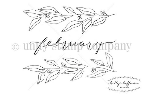 February Florals {Bullet Journaling}