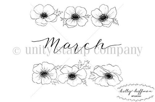 March Florals {Bullet Journaling}