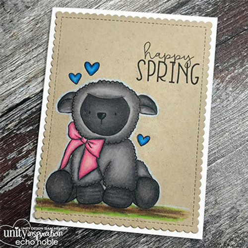 My Little Lamb {February 2018 Sentiment Kit}