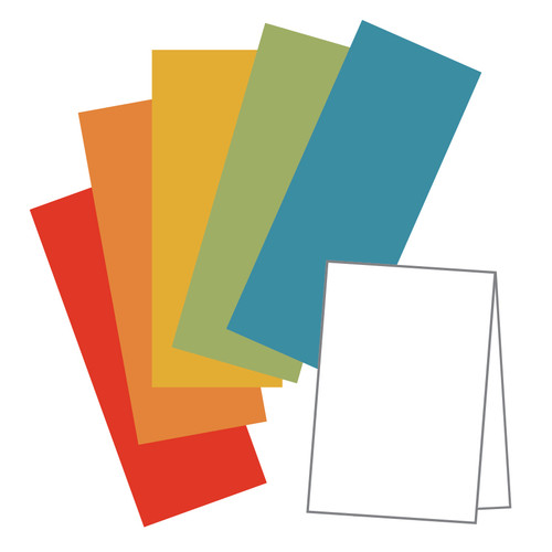 Tall Cut Card Stock- Kraft