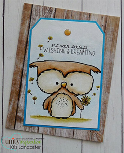 Owlie Wishes {july 2018 sentiment kit}