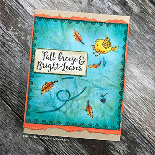 Fall Breeze Bright Leaves