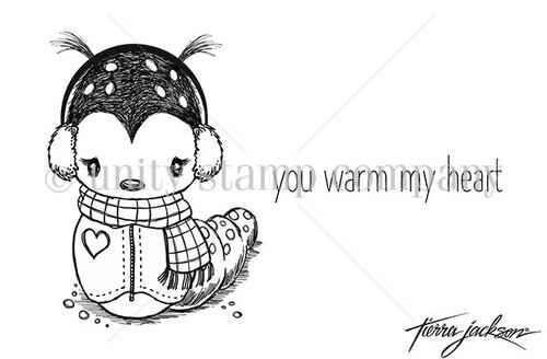 Winter Caterpillar Cuddlebug