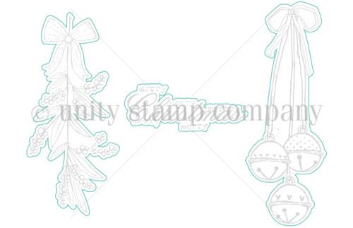 Bells & Holly - Digital Cut File