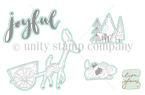 Deer Cart - Digital Cut File