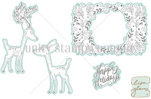 Holiday Deer - Digital Cut File