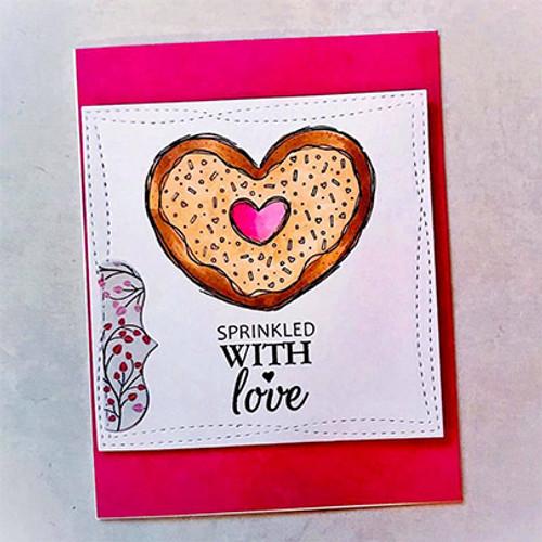 Sweet Sprinkled Donut