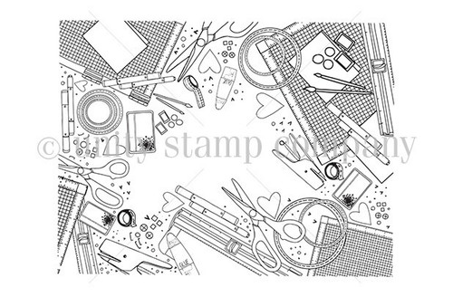 Crafty Supplies {border backgrounds}