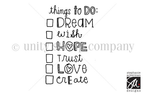 THINGS to DO: Dream, Wish, etc.