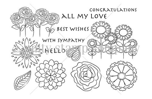 Best Wishes & Blooms