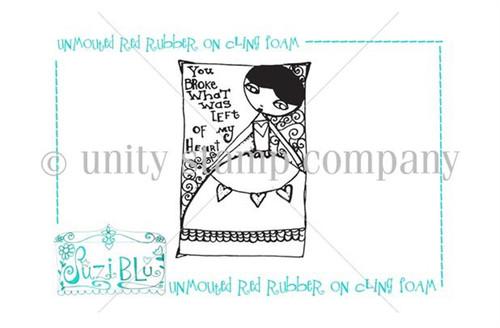 Broke my Heart-Exclusive Stamp by Suzi Blu