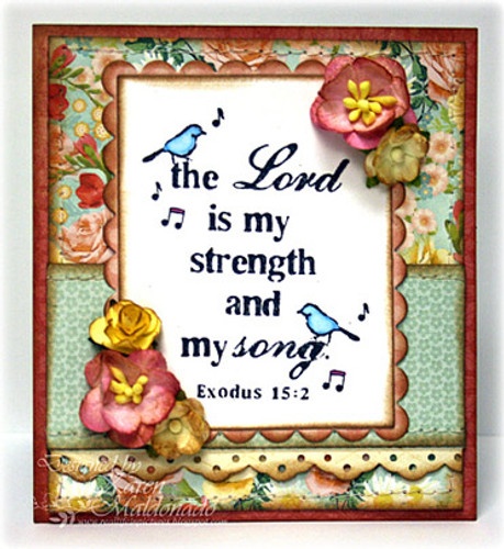 My Strength & Song, Lord