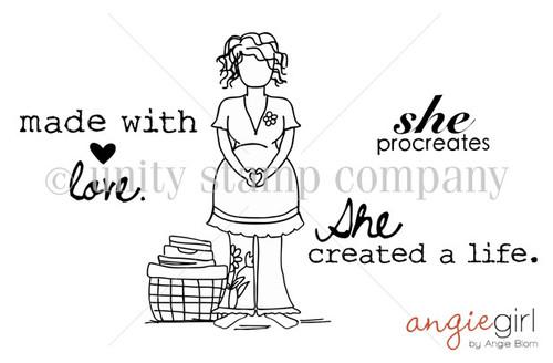 Carisa girl {she created a life}