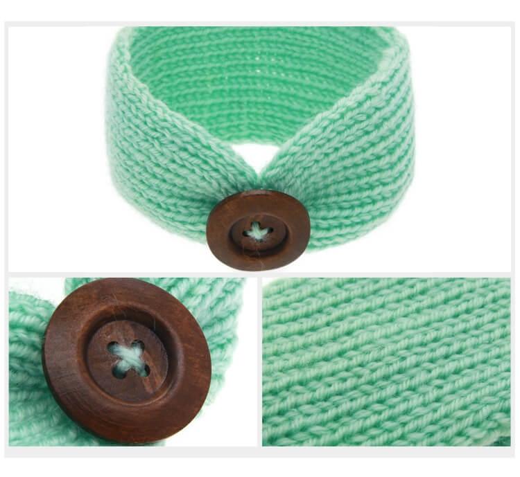 Baby Knitted Headband Head Wrap Free Shipping