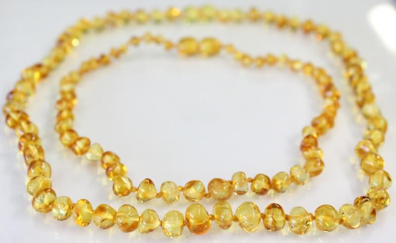 honey amber necklace for mum and baby