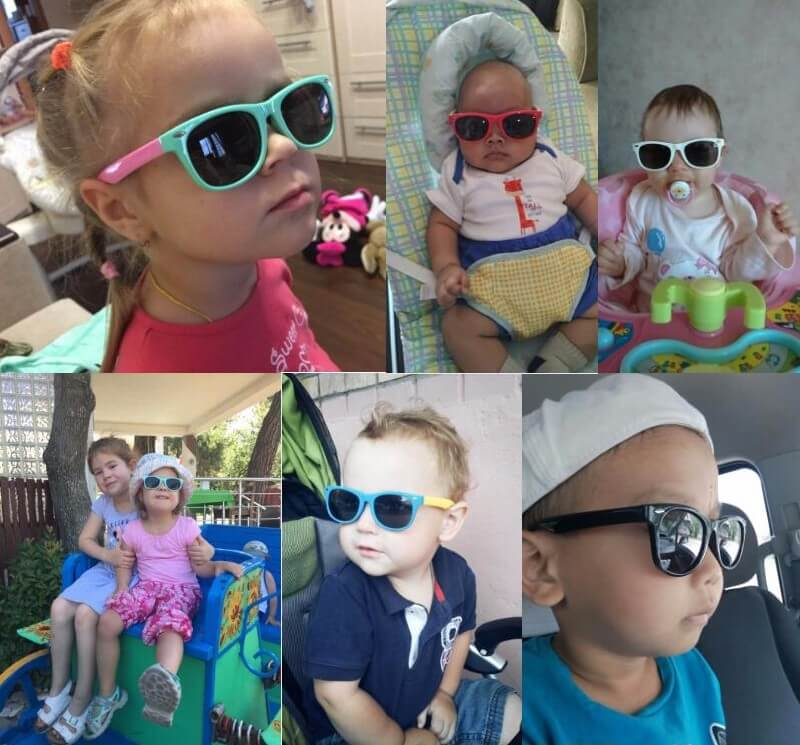 91029a4a1fee Baby Sunglasses | UV400+ | 25% OFF & FREE SHIPPING