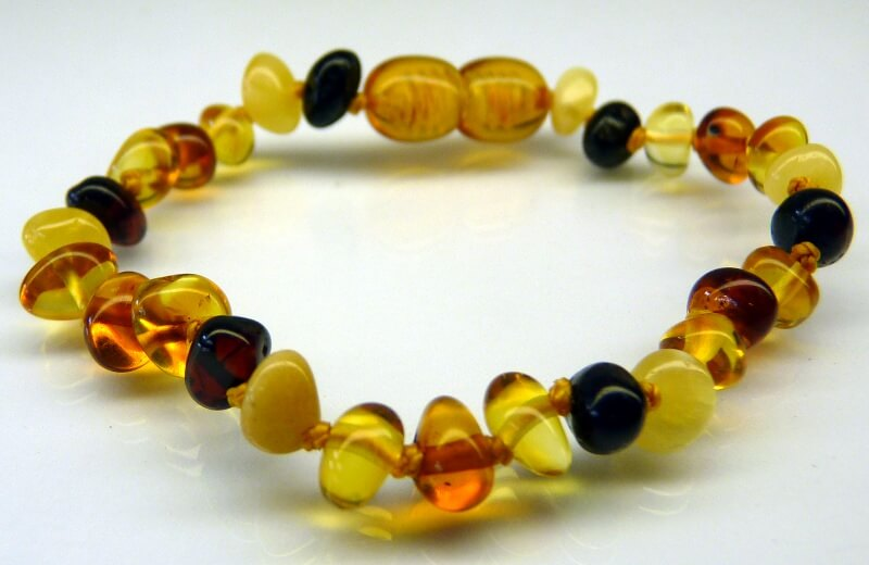 multi-scotch amber teething bracelets