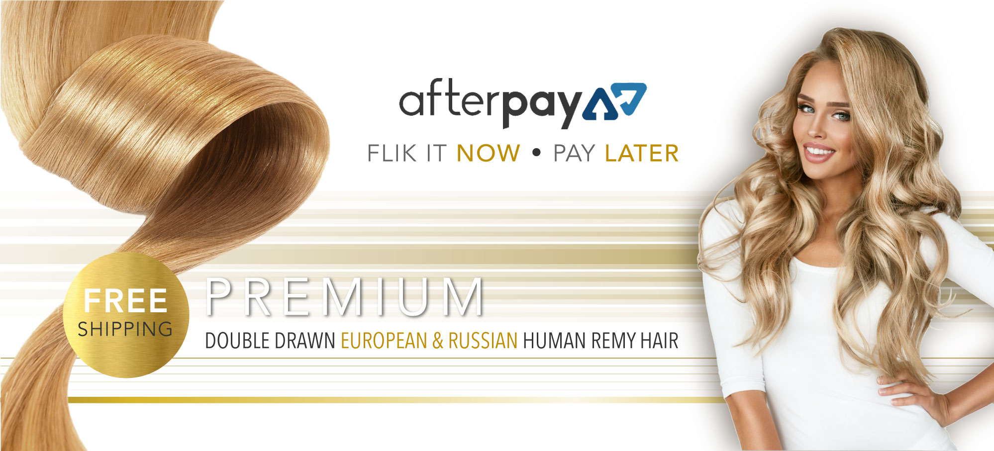 Afterpay Hair Extensions Australia Free Shipping Flik Hair
