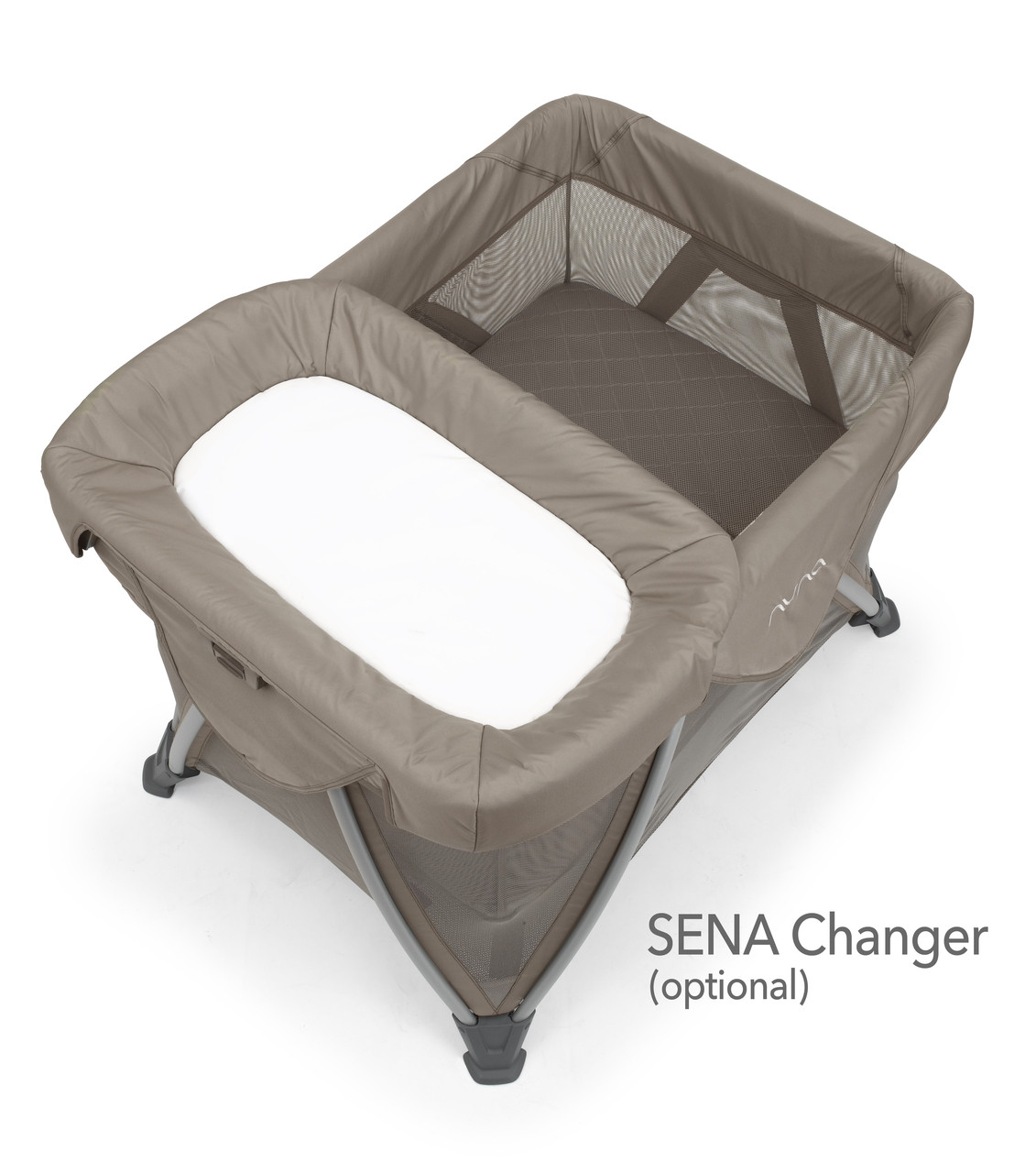 Nuna 174 Sena Aire Play Yard Bassinet Includes Organic