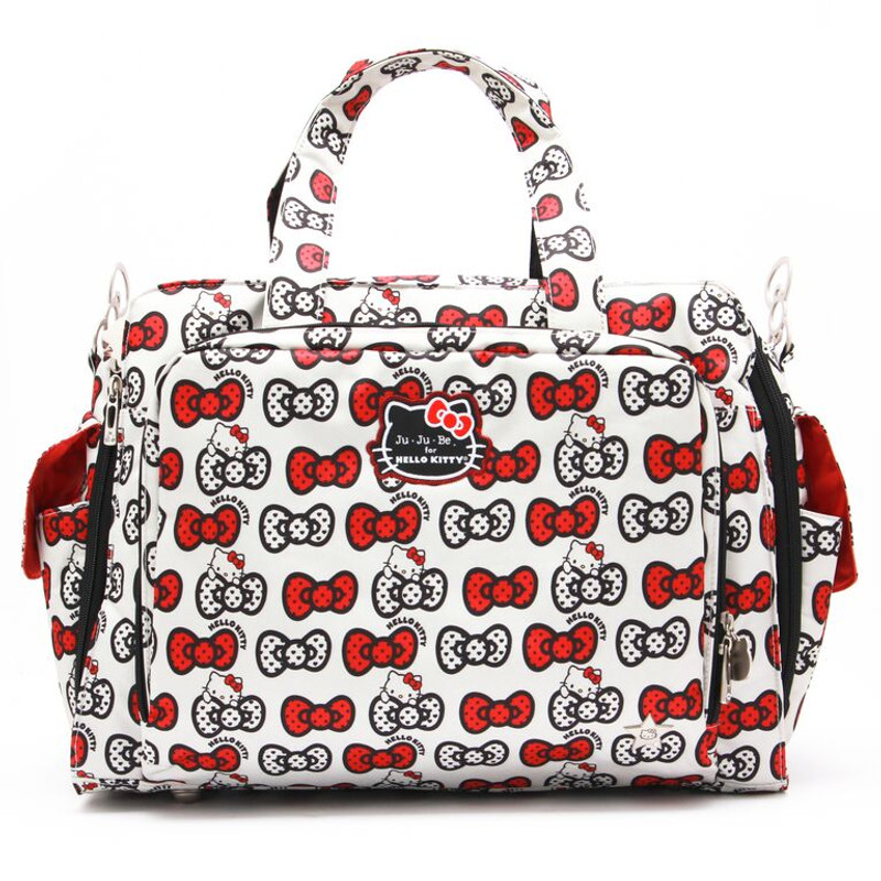 "Ju-Ju-Be ""Be Prepared"" Diaper Bag, HELLO KITTY Prints"