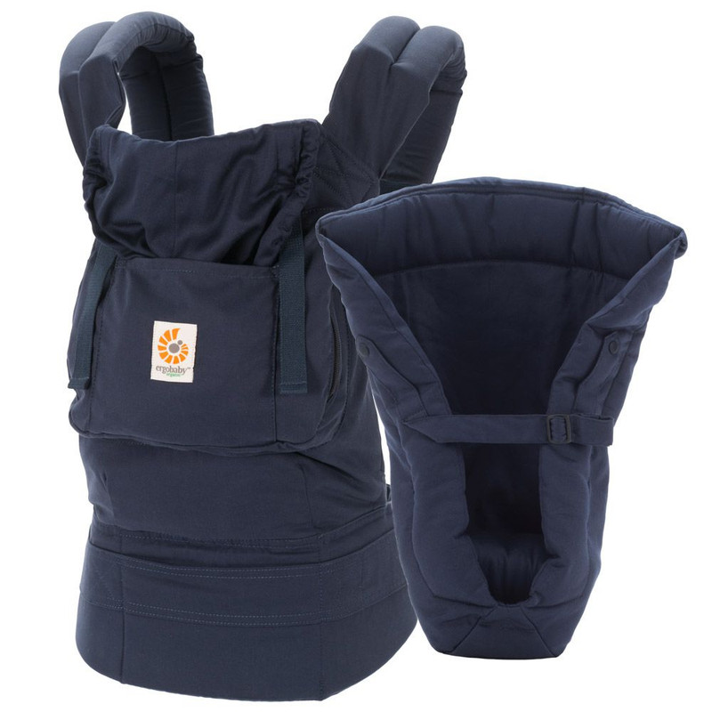 Ergobaby 3-Position Organic Carrier Bundle of Joy